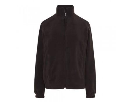 Флисовый свитер женский  коричневый w341