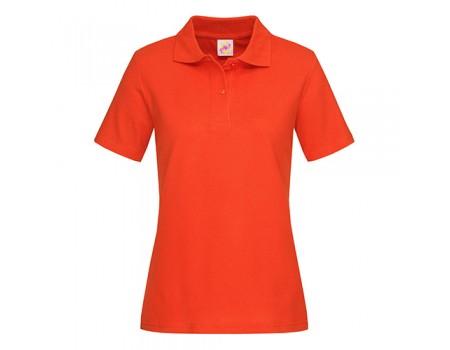 Поло женское помаранжеве w209