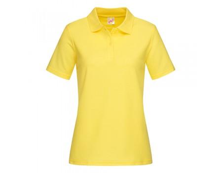 Поло жіноче жовте w210