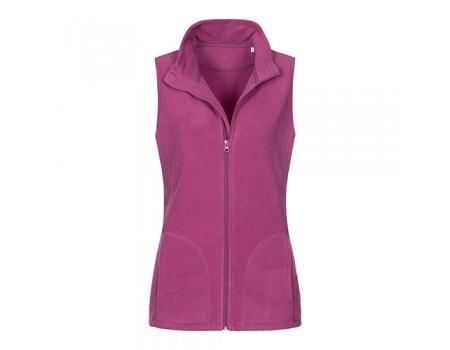 Флісова безрукавка жіноча рожева w350