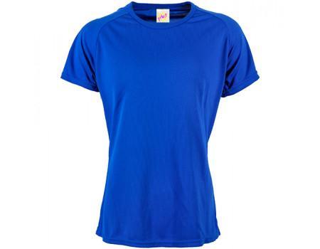 Футболка жіноча спортивна синя w181
