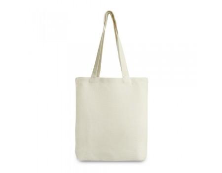 Эко сумка с  хлопка с дном