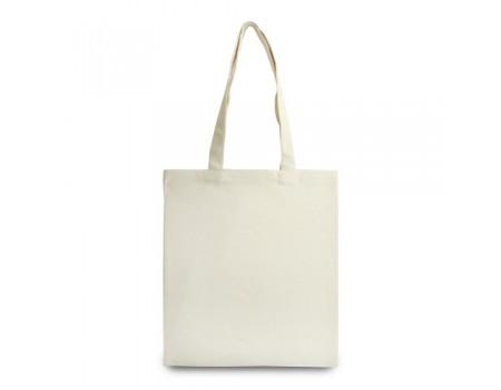 Эко сумка з двунитки лен