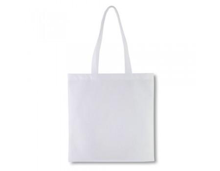 Эко сумка с спандбону серая EC116