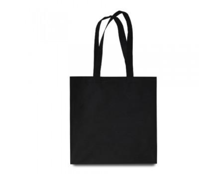 Еко сумка з спандбону чорна EC114