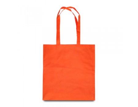 Эко сумка с спандбону помаранжева EC117