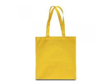 Еко сумка з спандбону жовта EC112