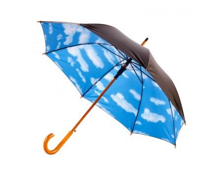 Современный зонт-трость полуавтомат